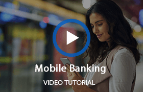 Watch mobile banking video