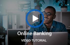 Watch online banking video